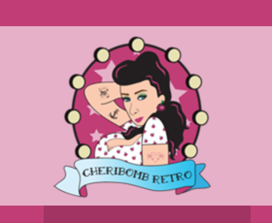 This is their pretty logo as seen on the Cheribomb website!