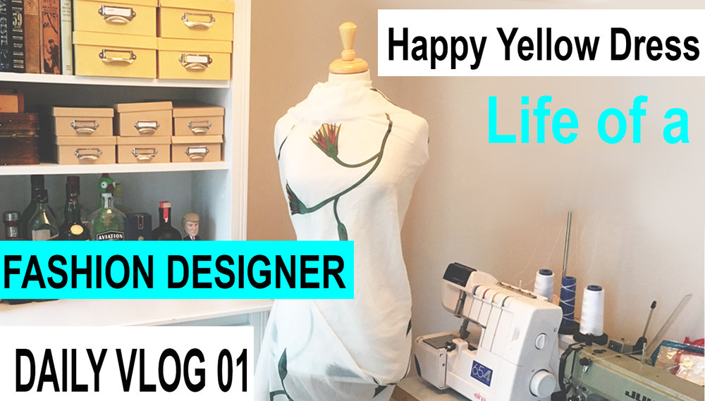 How To Become A Fashion Designer Blog Happy Yellow Dress