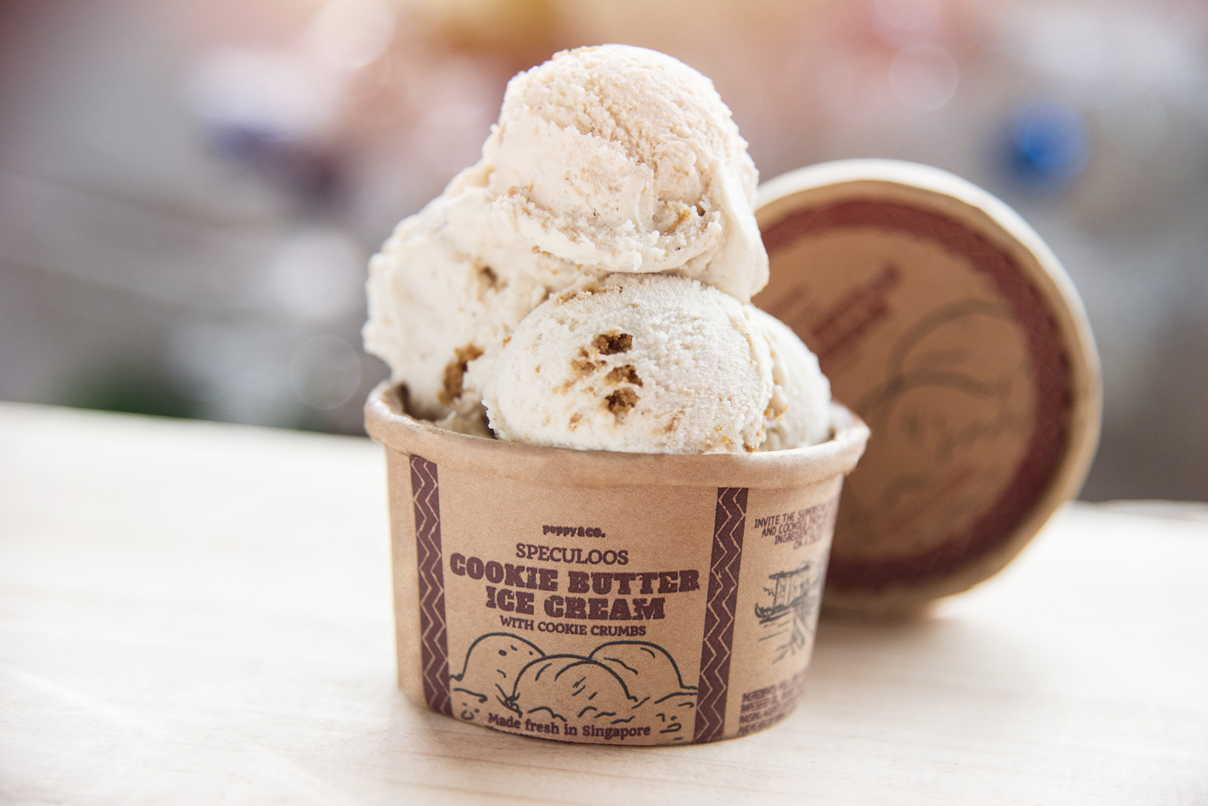 Speculoos Cookie Butter Ice Cream