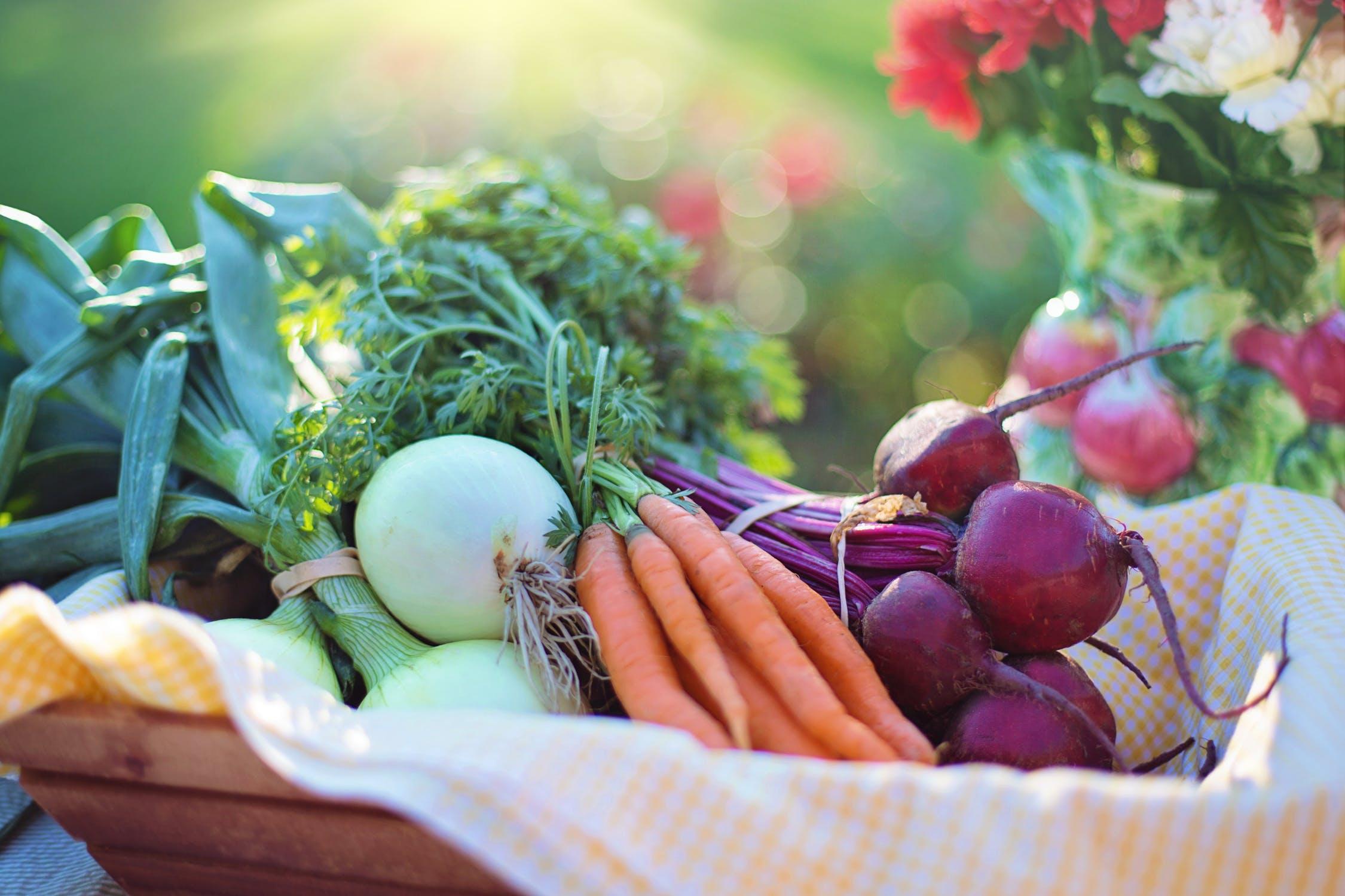 Vegetables rich in antioxidant