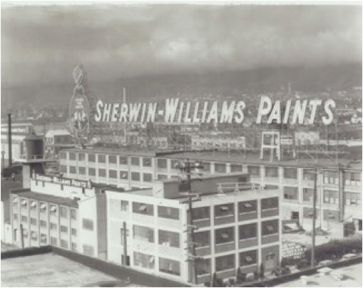 Photo courtesy of The Sherwin-Williams Company, circa 1930′s.