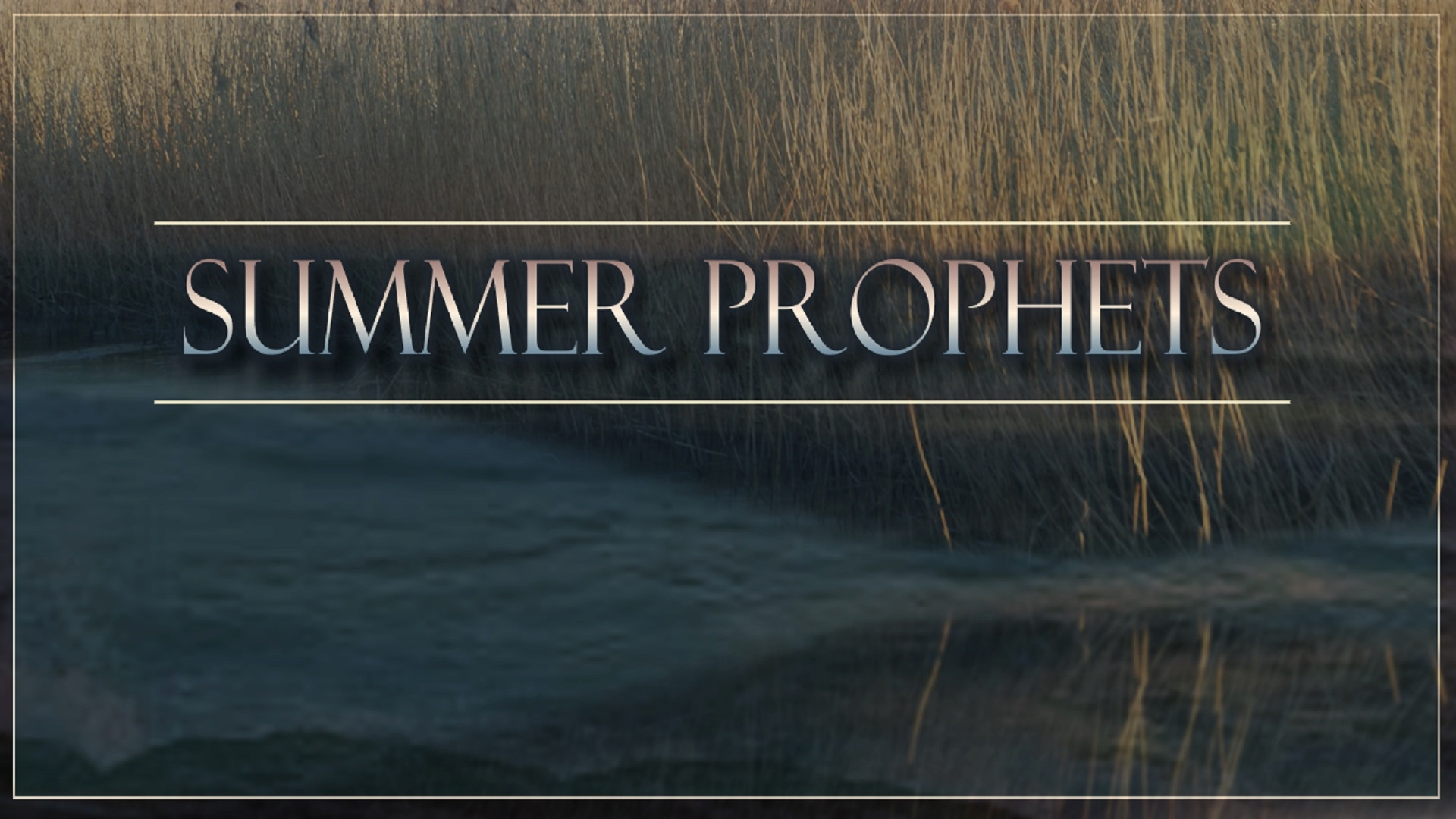 Summer Prophets Sermon Series