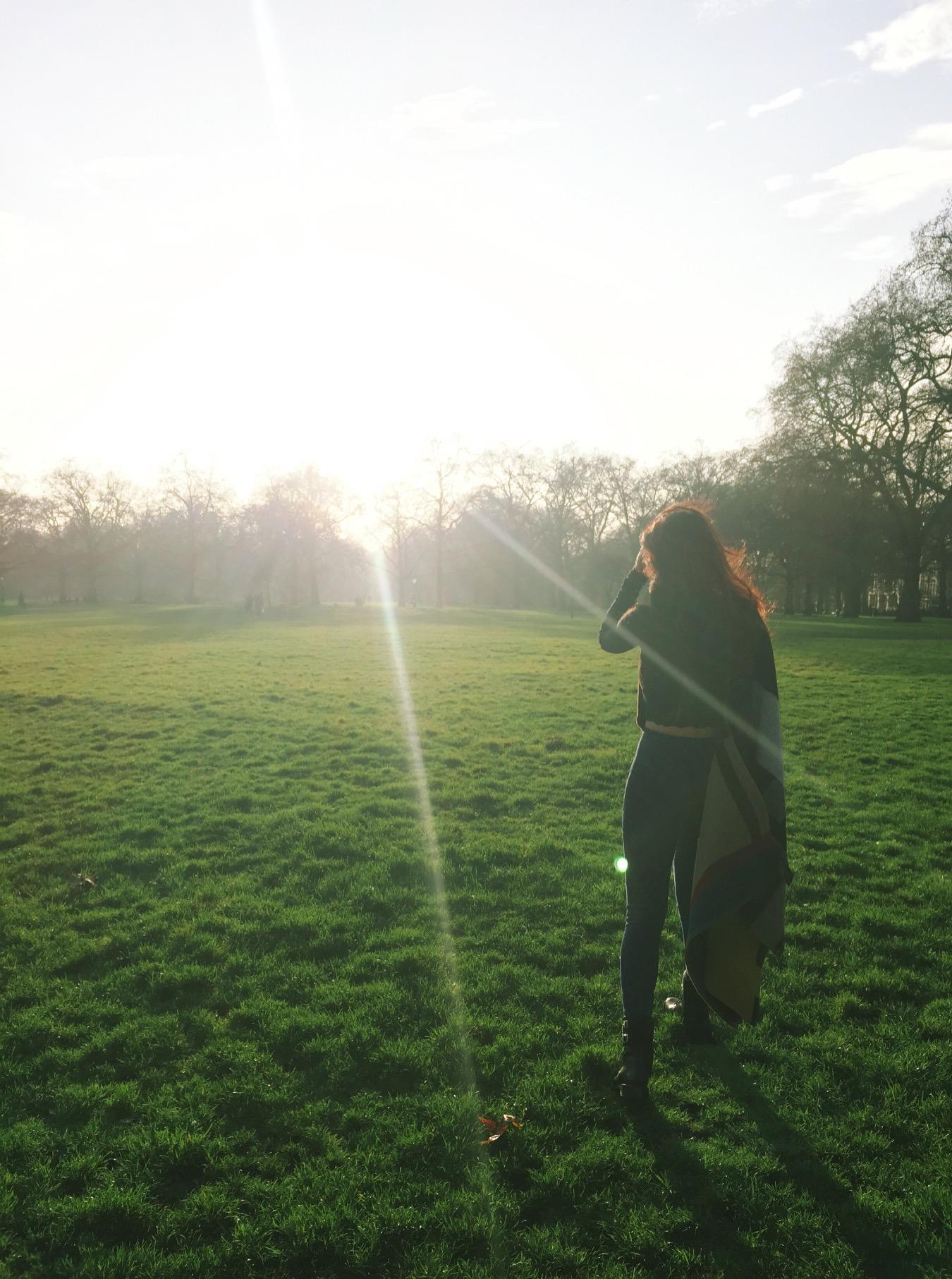 at Green Park