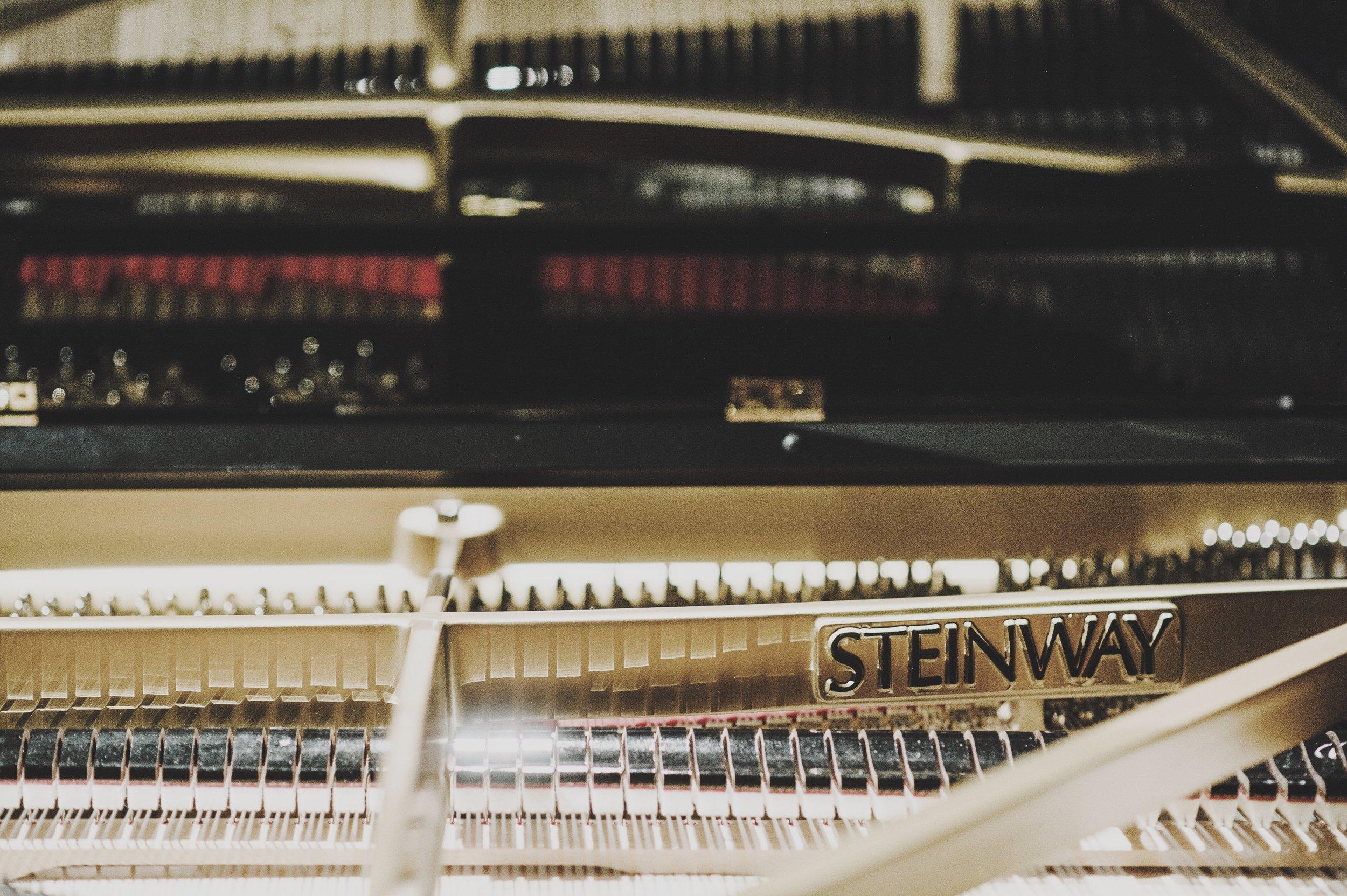 台中國家歌劇院內鋼琴