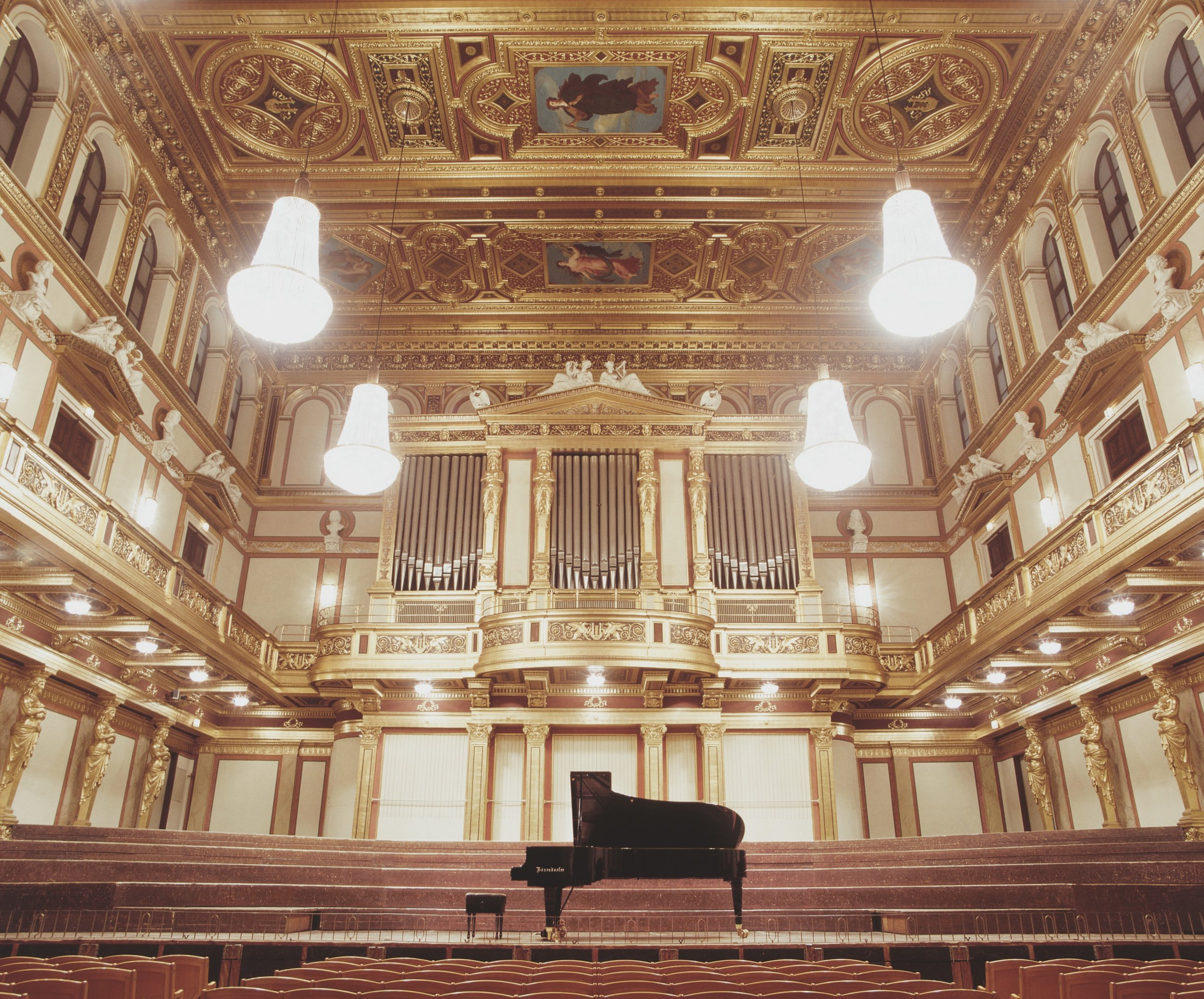 Bösendorfer piano in Musikverein