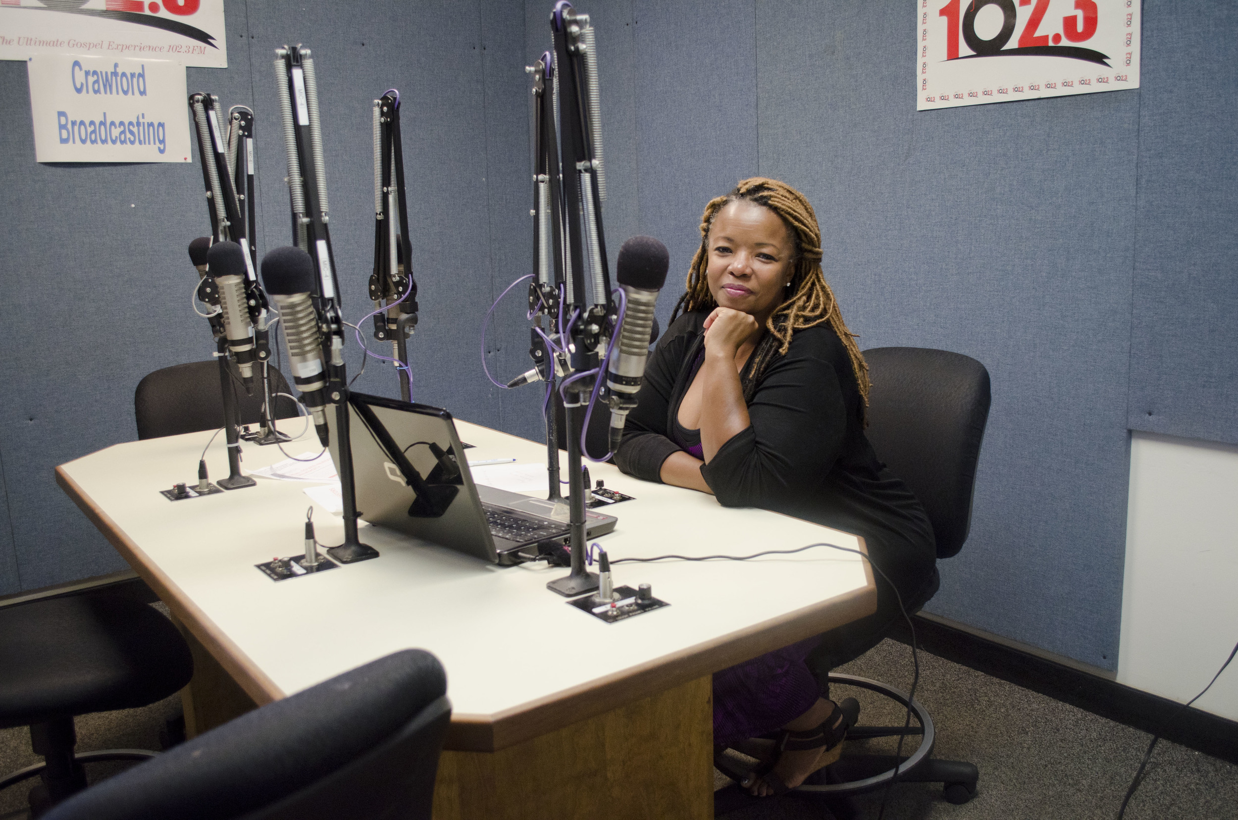 A Day in the Studio at 102.3