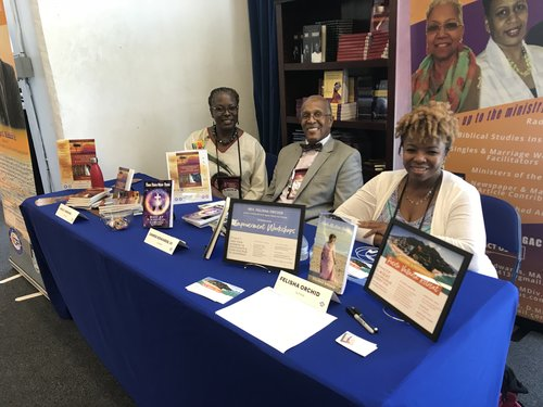 Author's Row at HU Ministers' Conference…