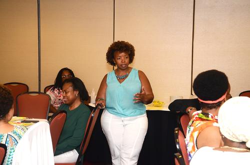 Speaking at brunch & silent auction…