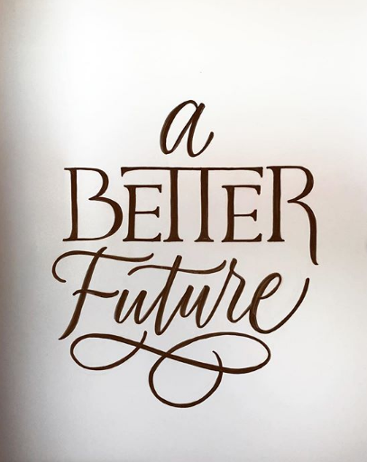 Lettering by Candace Carson -  See more of her work on Instagram