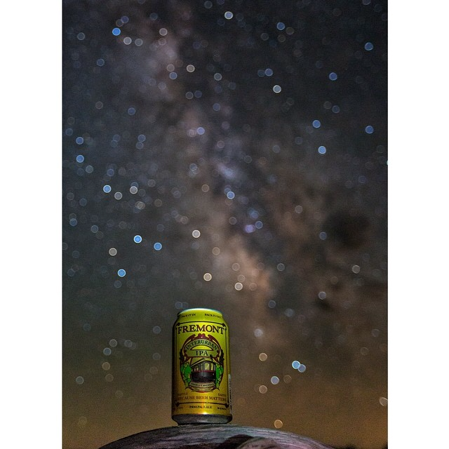 Interurban IPA and a starry night at Crater Lake