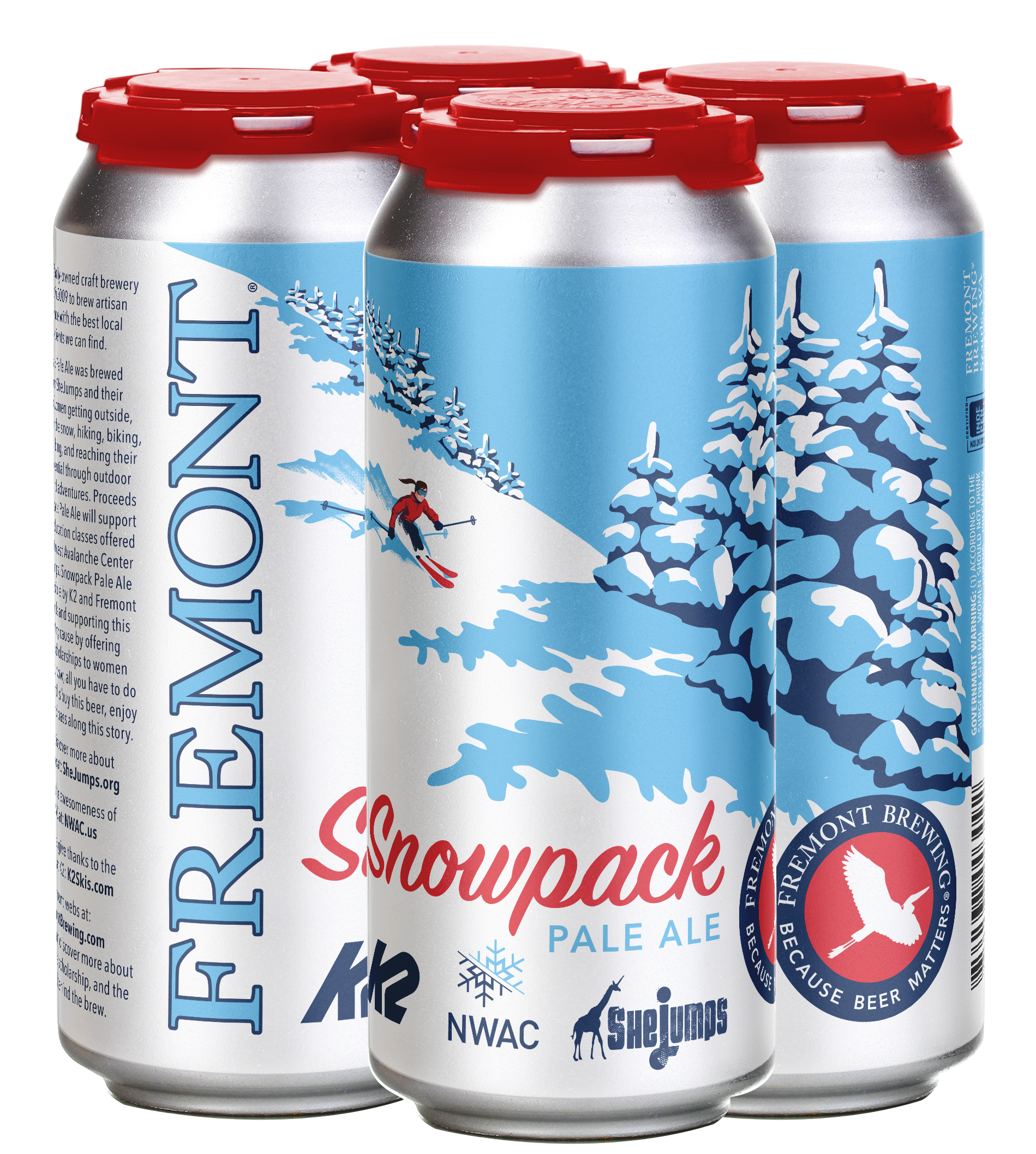 Snowpack 4-Pack 16oz Cans