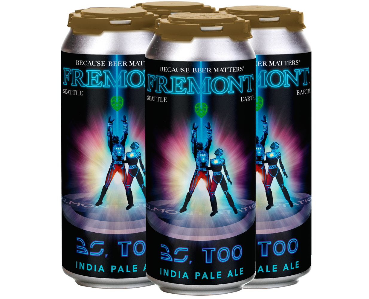 BS, Too 4-Pack 16oz Cans