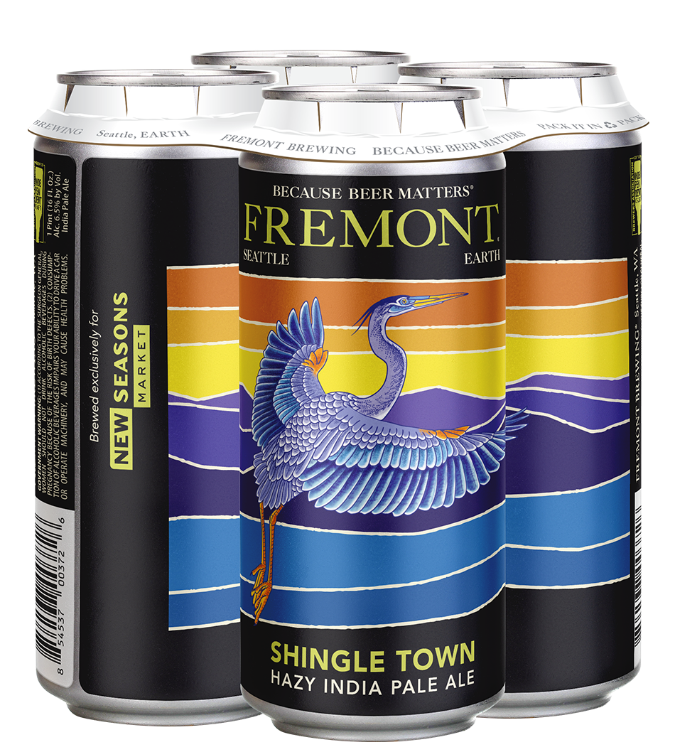 Shingle Town 4-Pack 16oz Cans