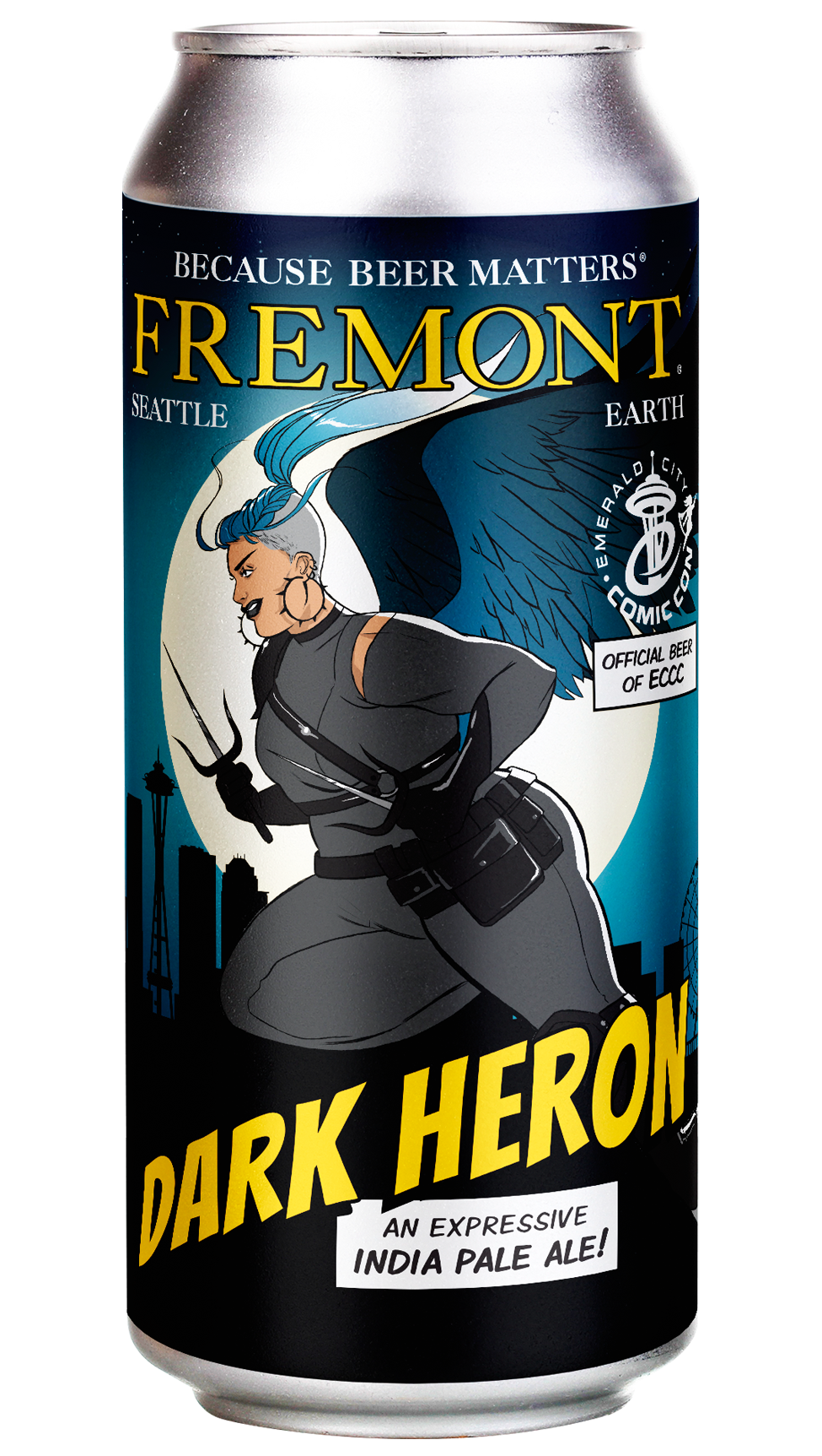Dark Heron 16oz can