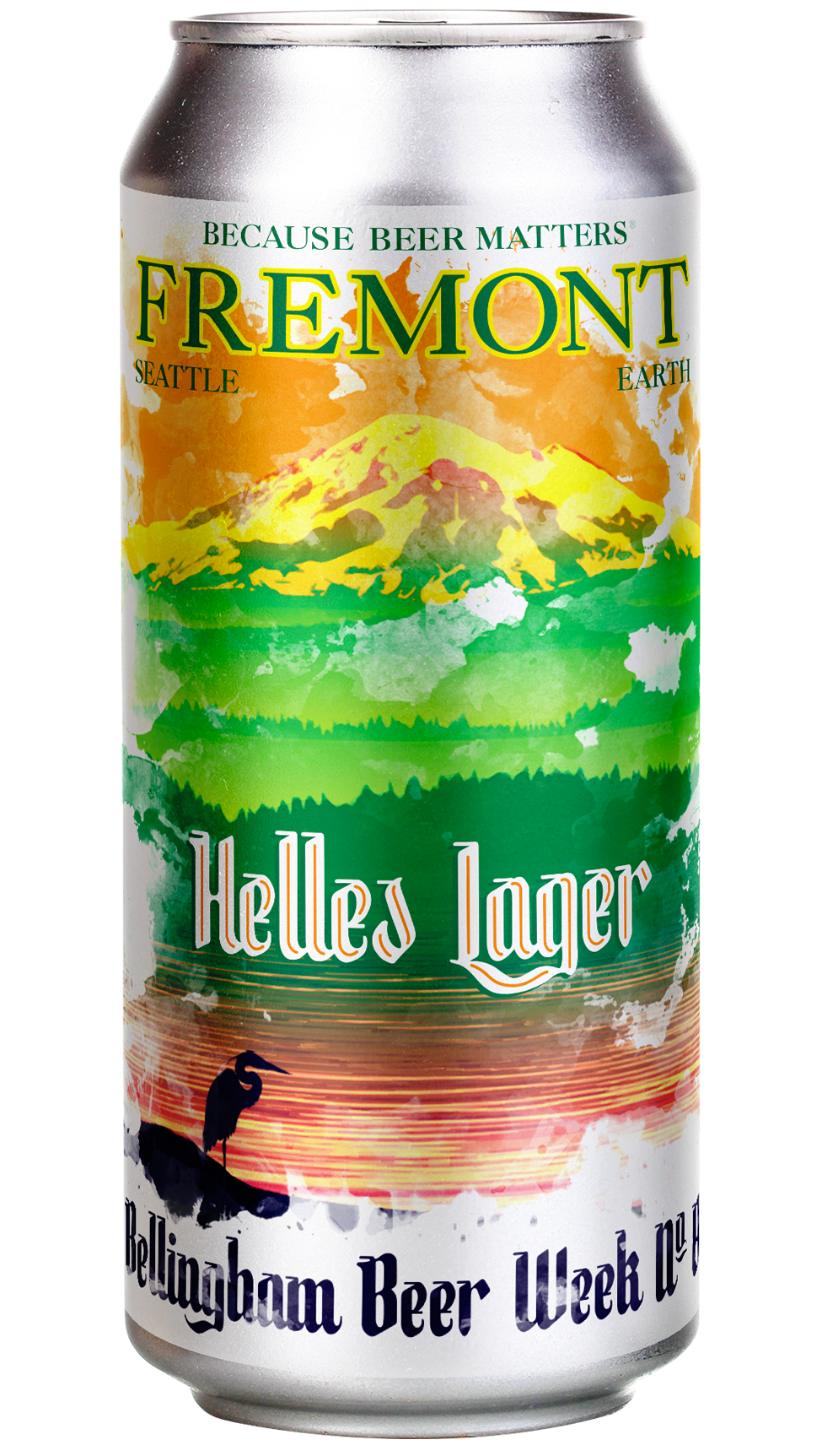 Bellingham beer Week No. 8 Helles Lager