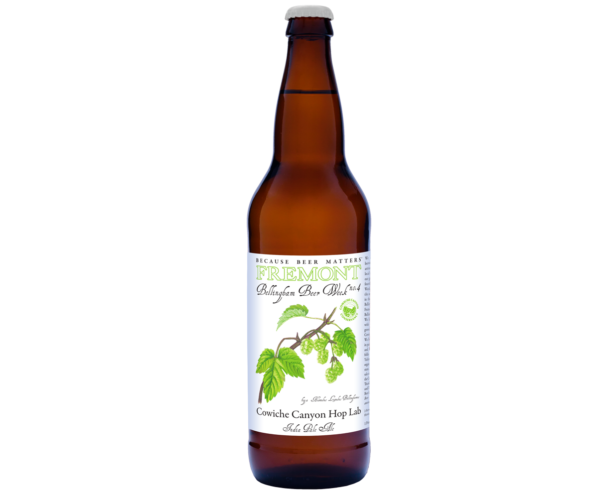 2015 BBW4 22oz Bottle