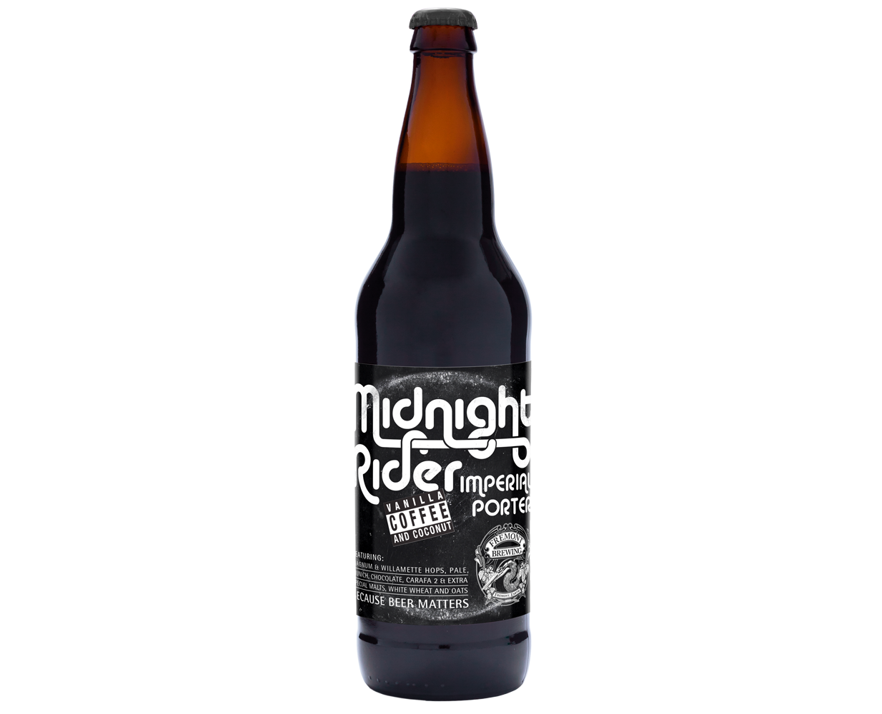 2012 Midnight Rider 22oz Bottle
