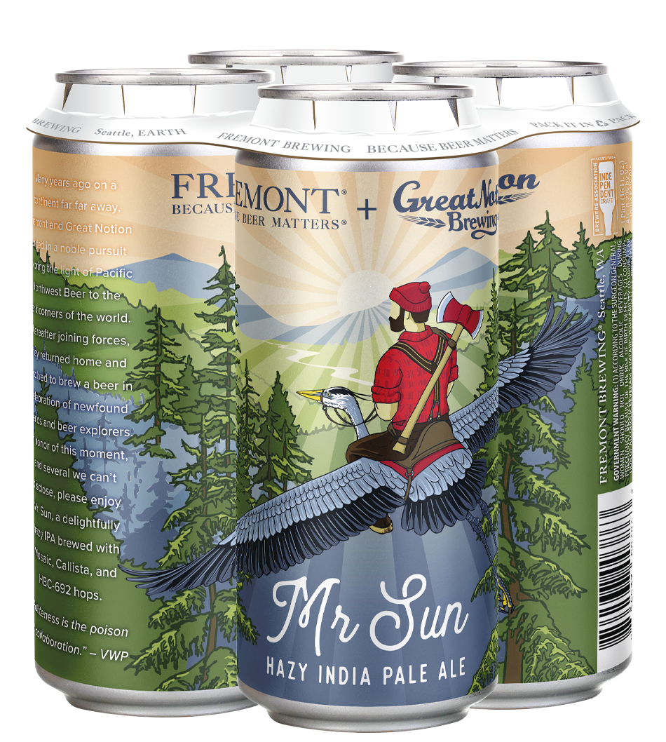 Mr Sun 4-Pack 16oz Cans