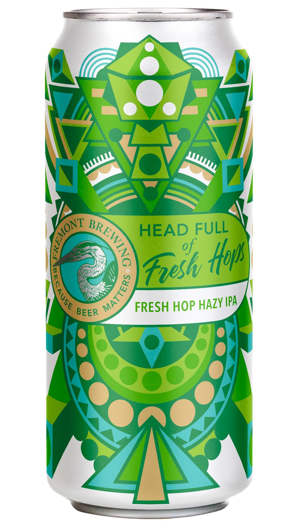 Head Full of Fresh Hops can