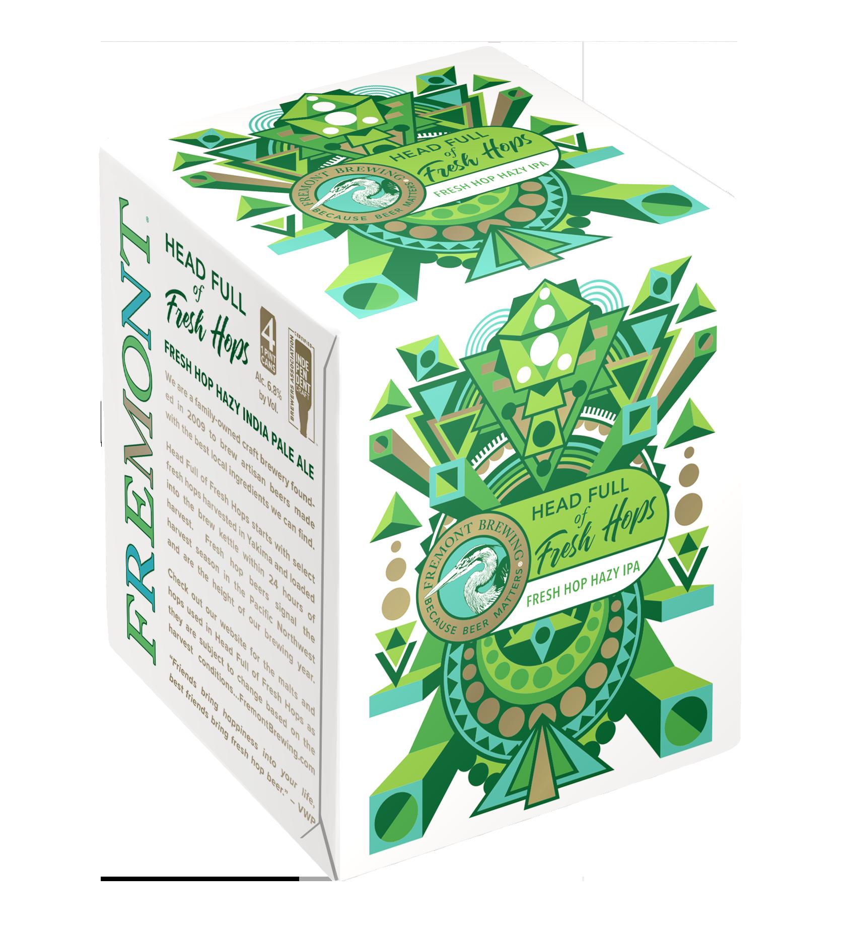 Head Full of Fresh Hops 4-Pack 16oz Cans