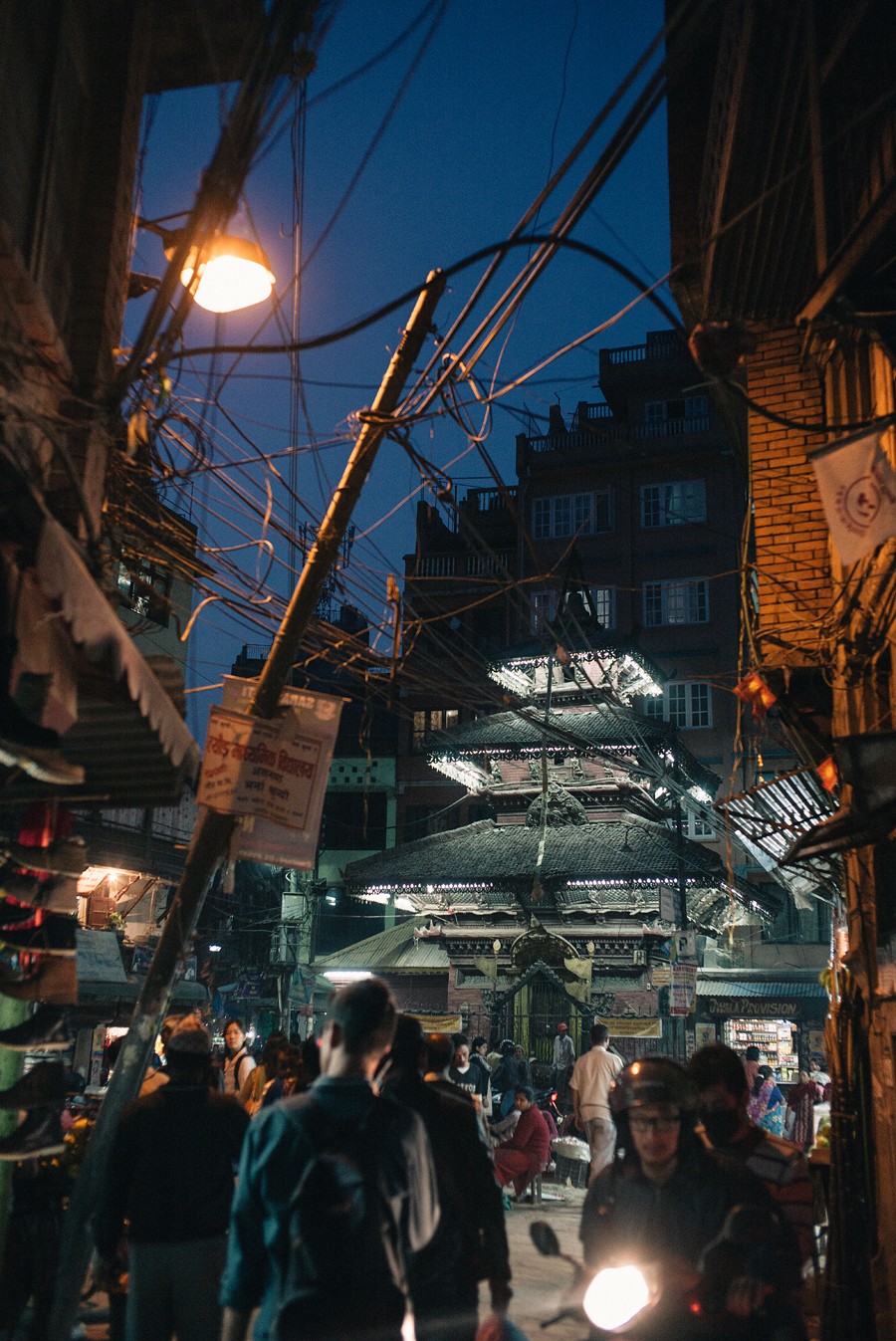 Nite at Thamel - Leica M240
