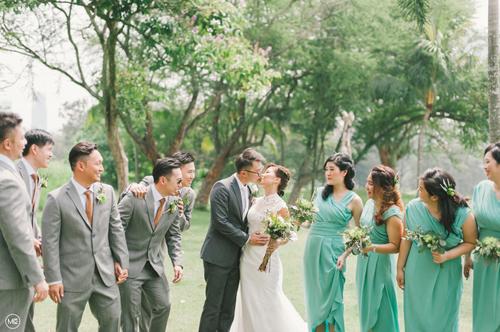 garden wedding malaysia