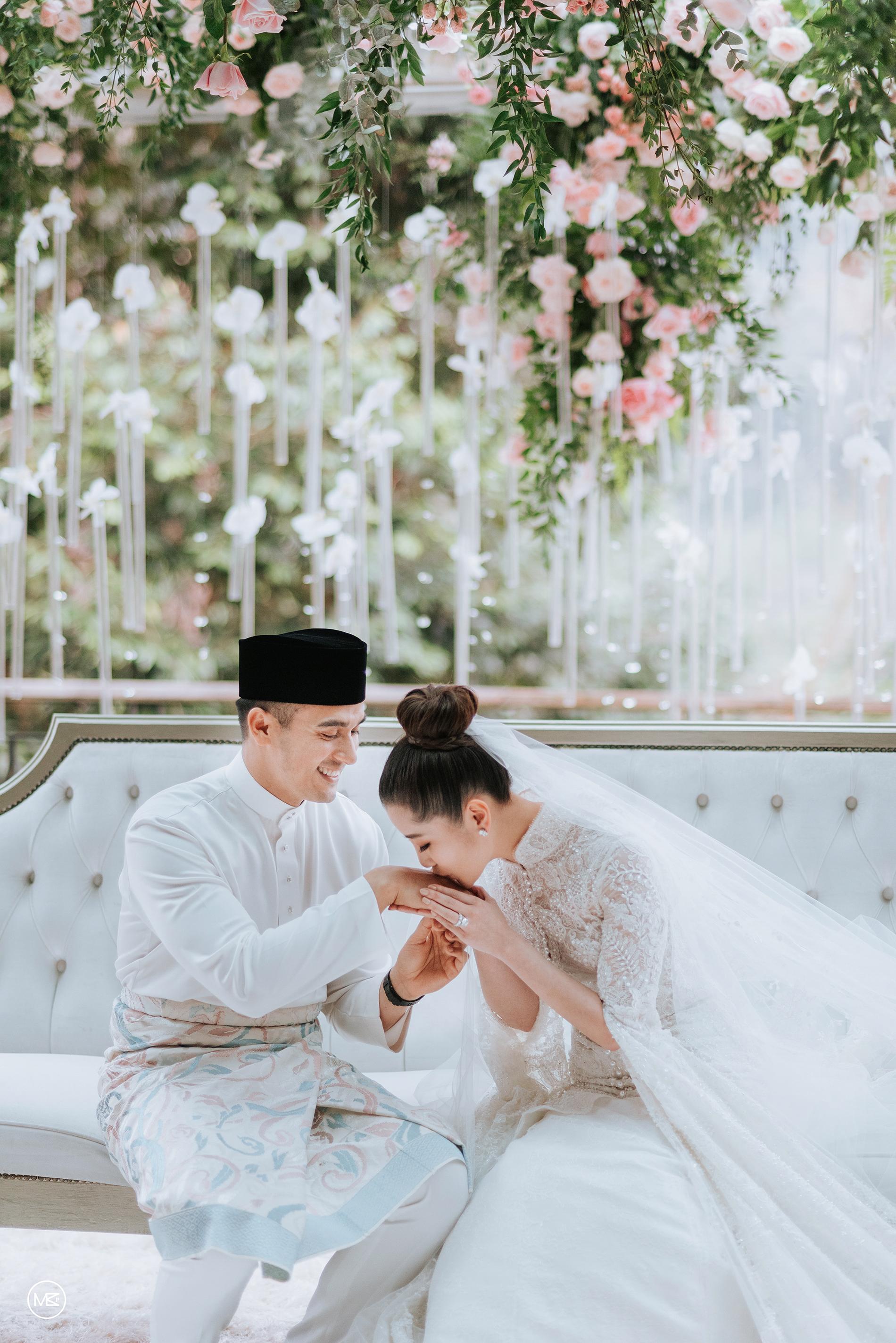 chryseis faliq wedding