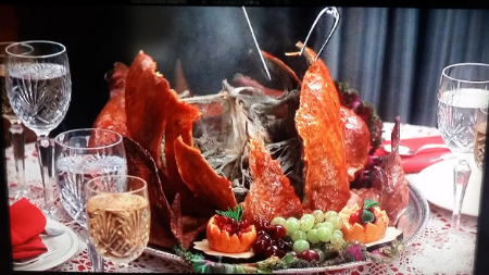 Turkey scene from National Lampoon's Christmas Vacation
