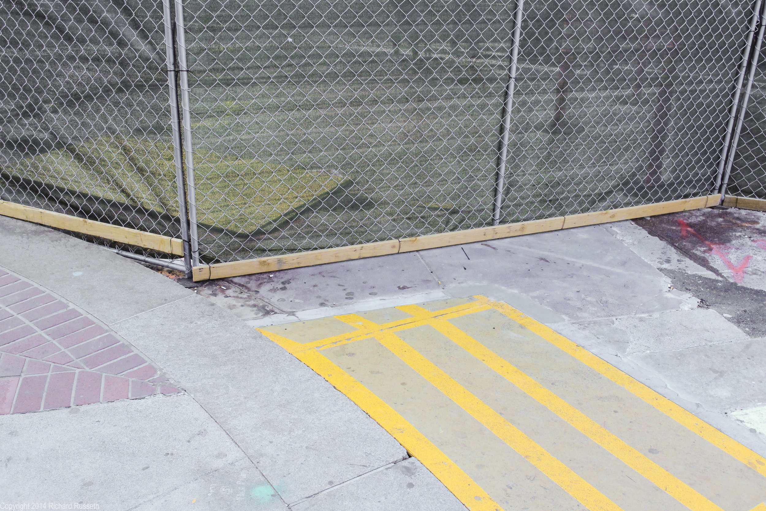 Five Yellow Lines