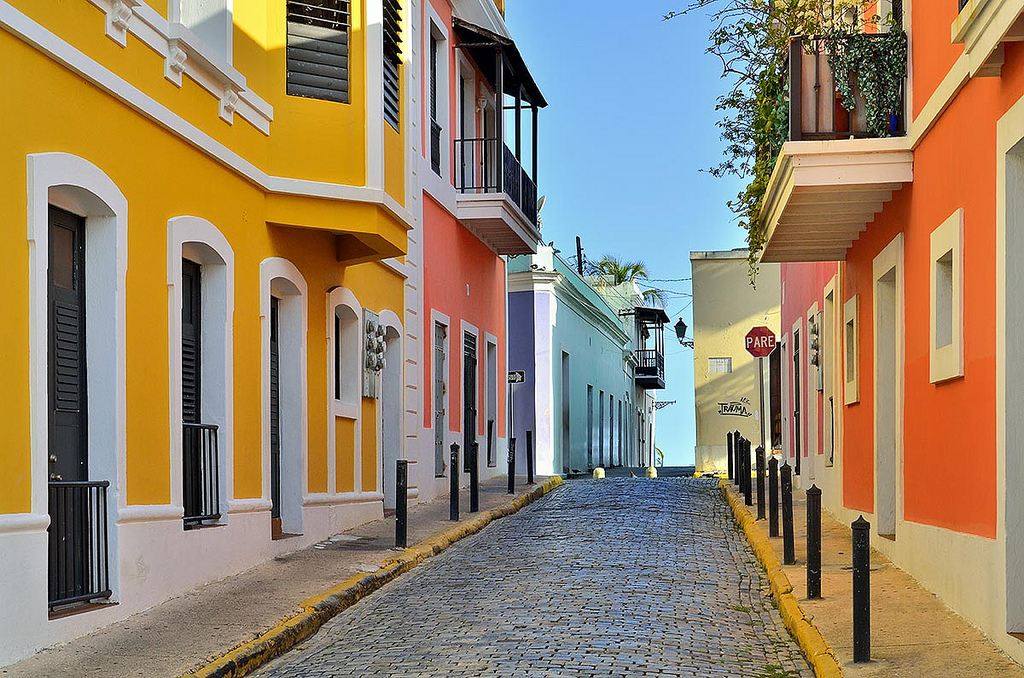 Vibrant color and an indelible signature give the Old San Juan district a distinct charm