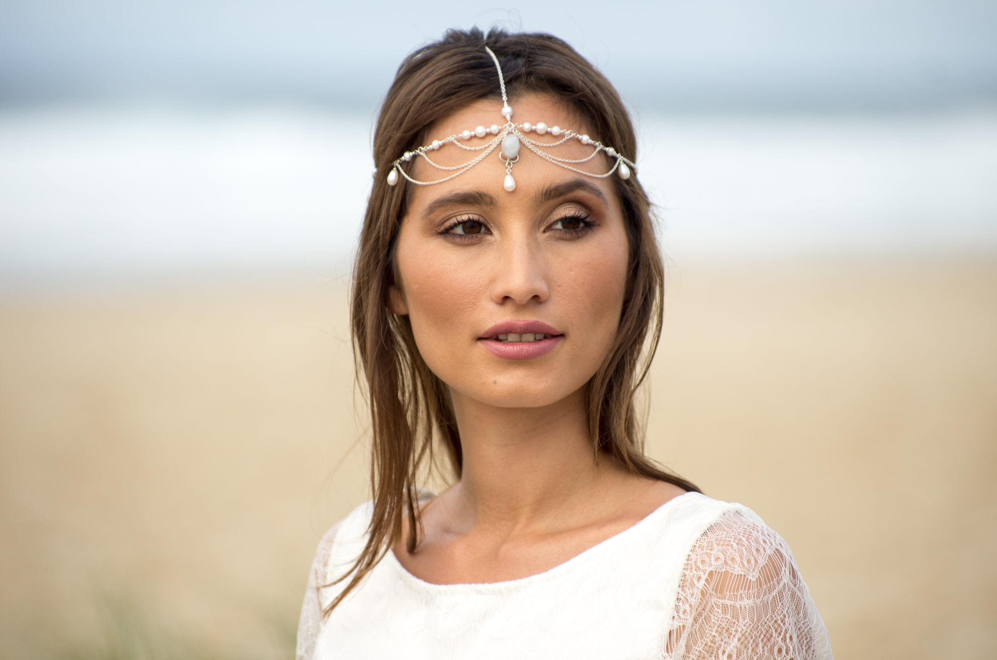 Komorebi Bride headpiece pearl Siren of the Sea - L Townley photography.jpg