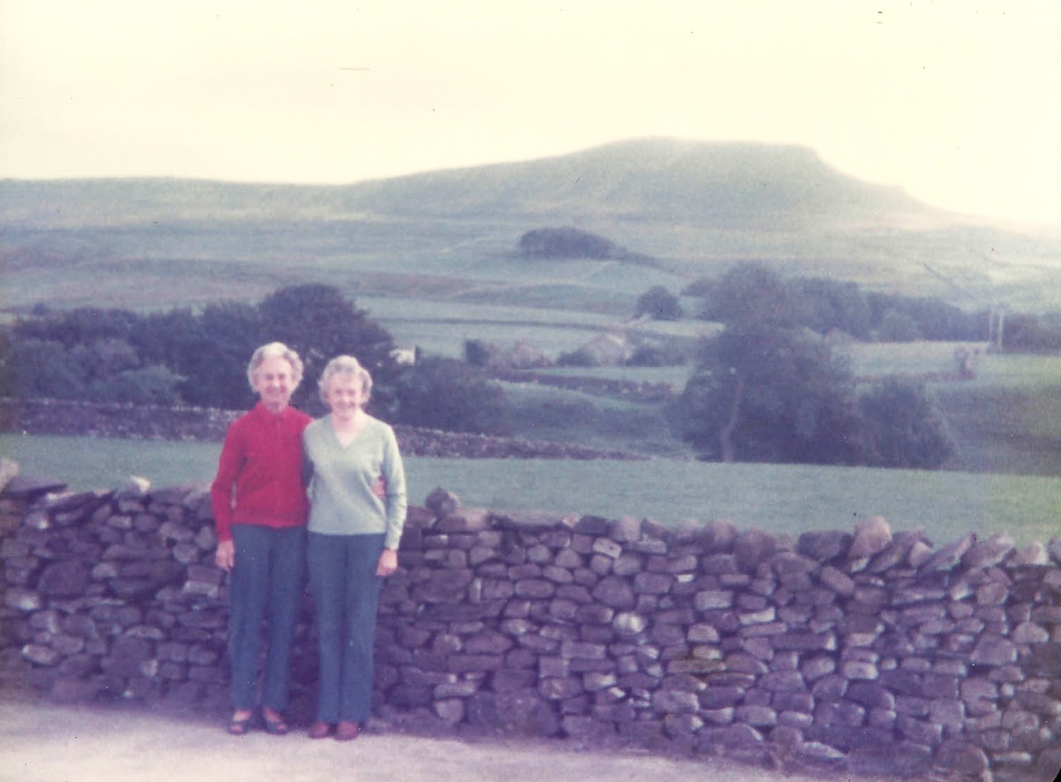 I can't remember if my Grandma (on the left), climbed in those shoes!