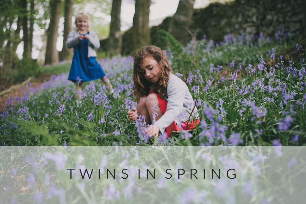 Twins in Spring