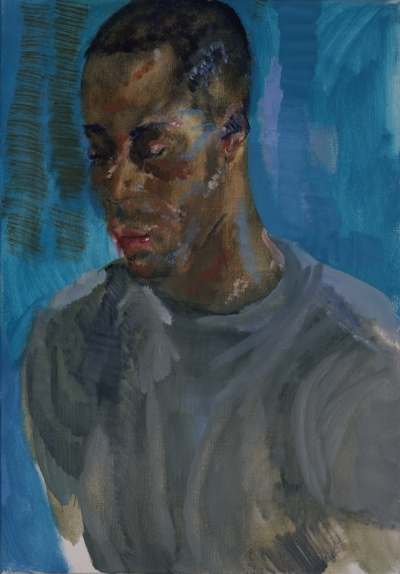 Rainer Fetting  Desmond , 2001 100 x 70 cm Courtesy the artist