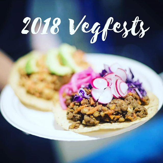 Check out @plantbasedtoronto for a list of all the 2018 Vegfests you can go to! How many will you attend? 🤗