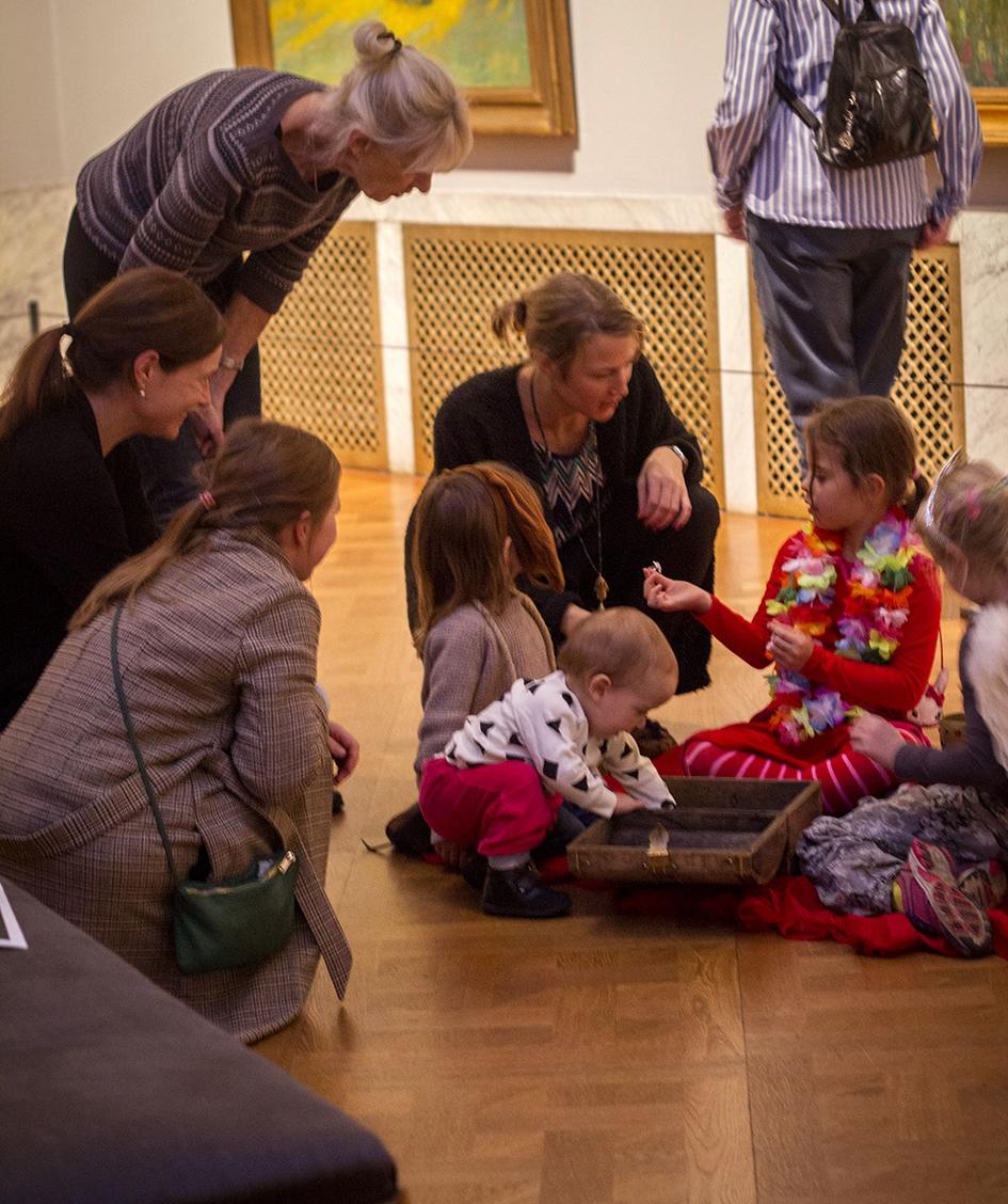 Familysunday with Creative ArtPlay @ Prins Eugens Waldemarsudde