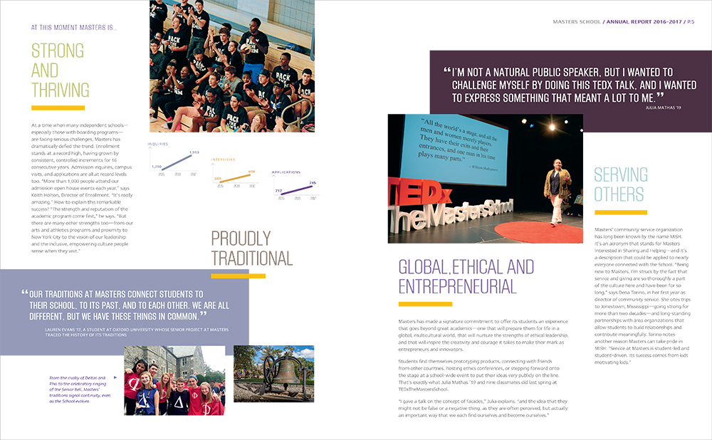 The Masters School Annual Report