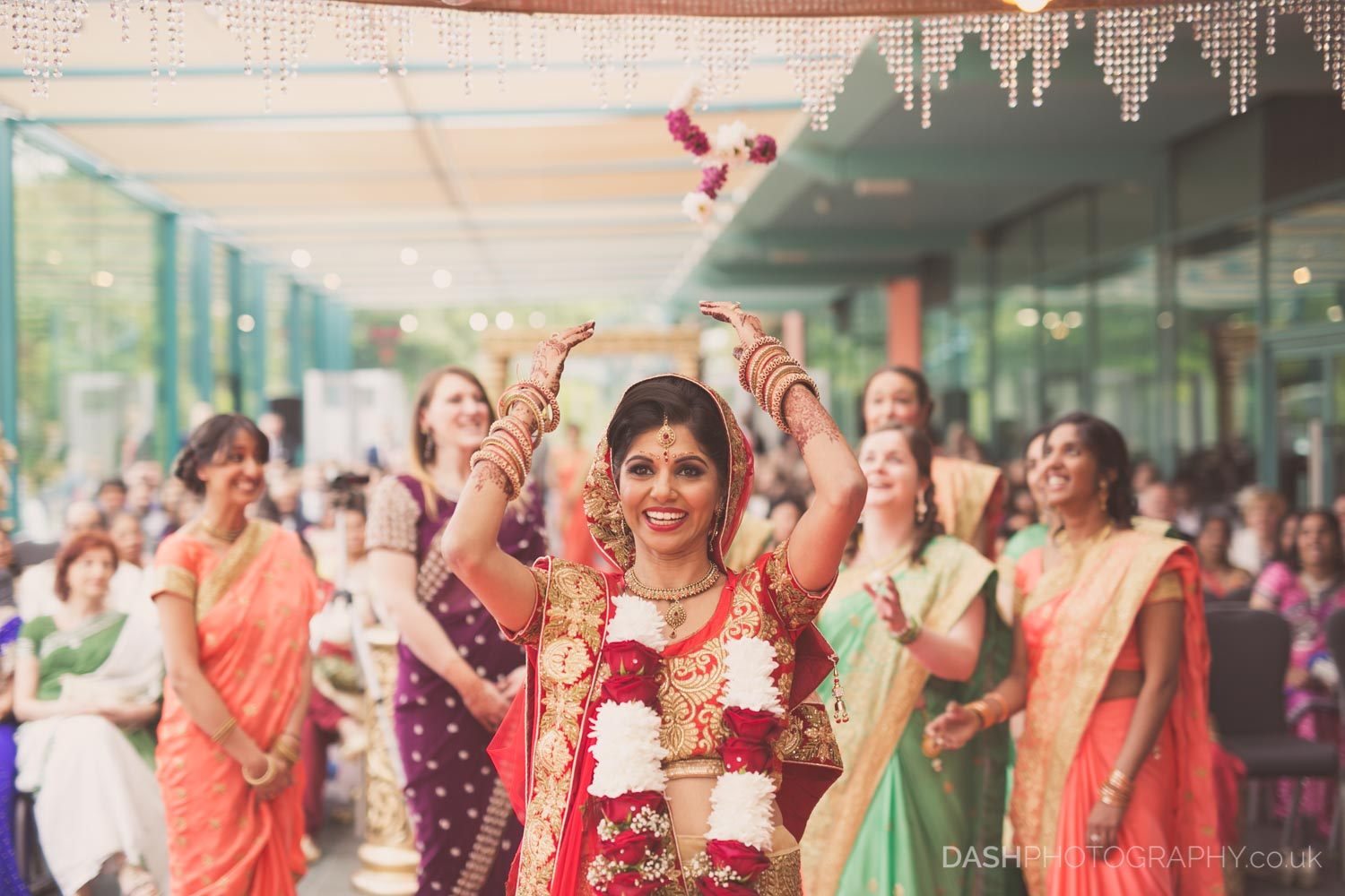 Asian wedding, registry and reception captured by Dash Photography in 2017 in London using Canon cameras and Sigma lenses