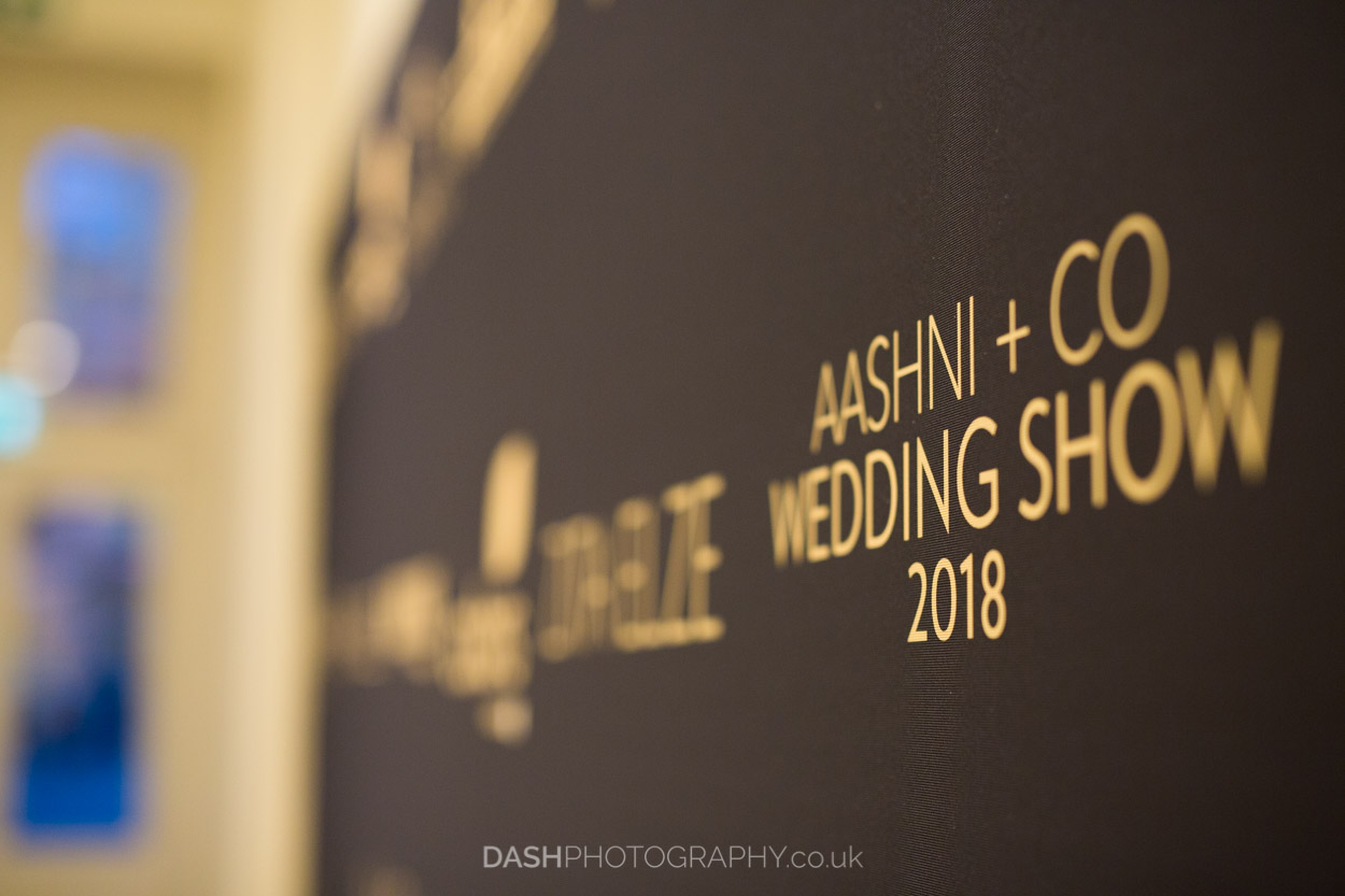 Aashni & Co Wedding Show 2018 captured by Asian Wedding Photography company Dash Photography at Somerset House in London January 2018