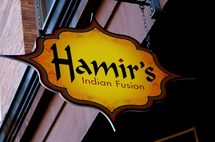 Hamir's Indian Fusion will expand its menu to offer lunch and dinner starting Monday, January 15.