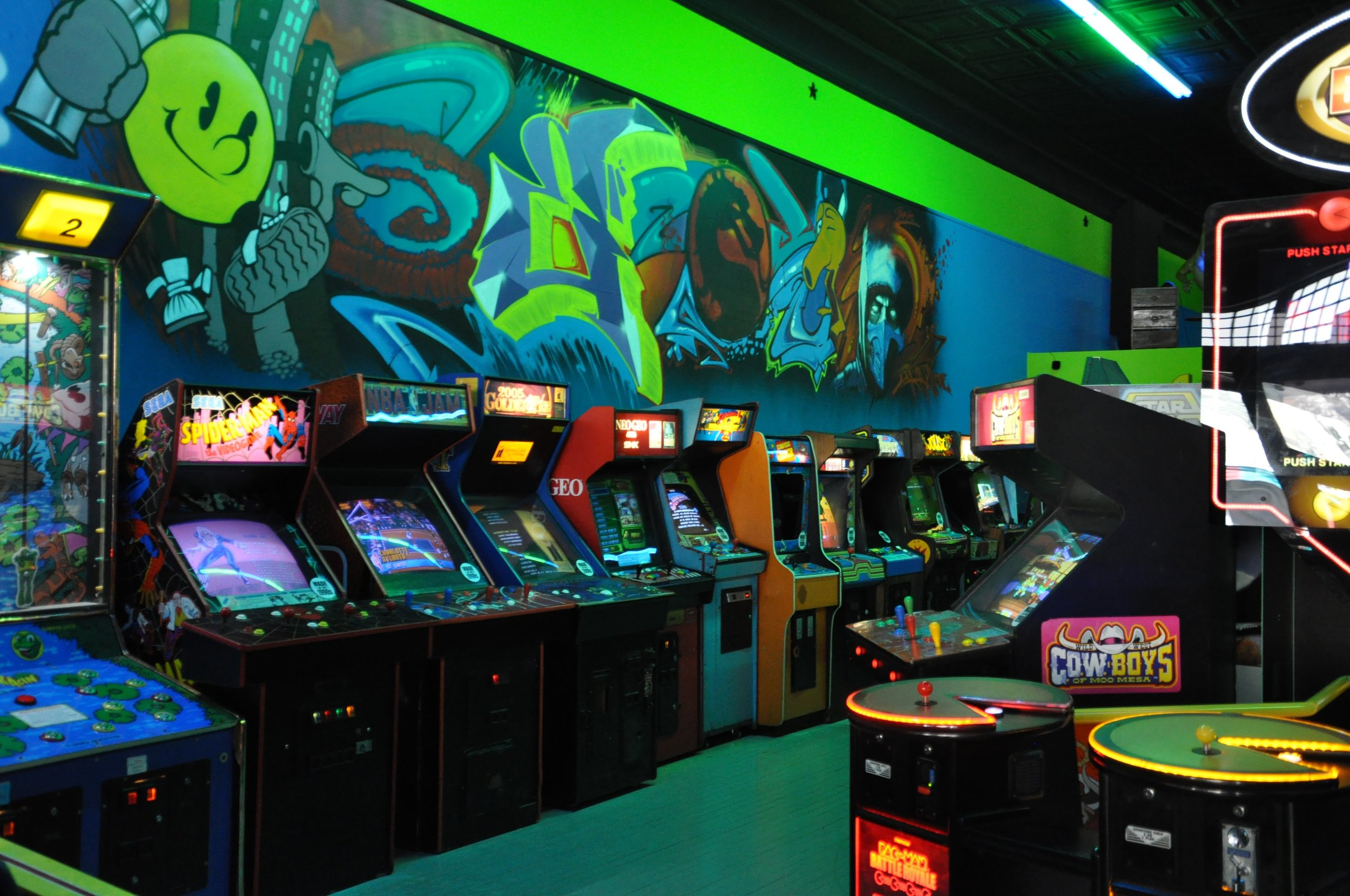 With classics like Space Invaders and Pac-Man, even adults will love Timeline Arcade. Photo courtesy of MidAtlanticDayTrips.com.