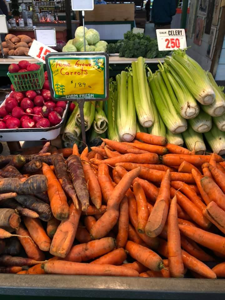 Shop for local produce and goods at Central Market York and Penn Market. Photo courtesy of Central Market York.
