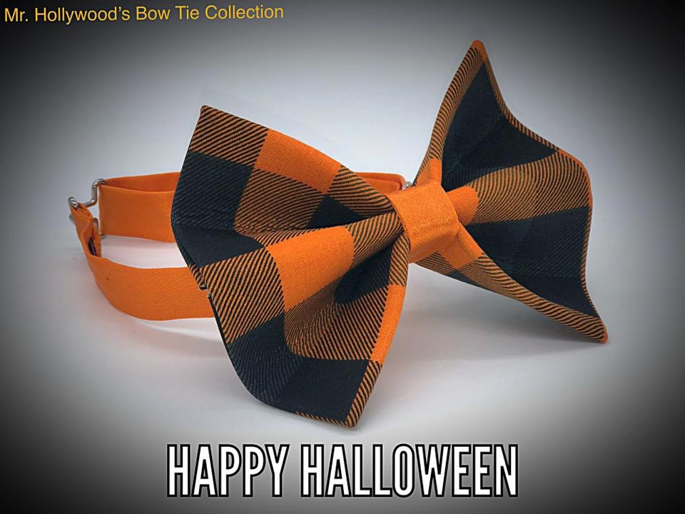 Fall inspired bow tie from mr.Hollywood's Bow Ties.
