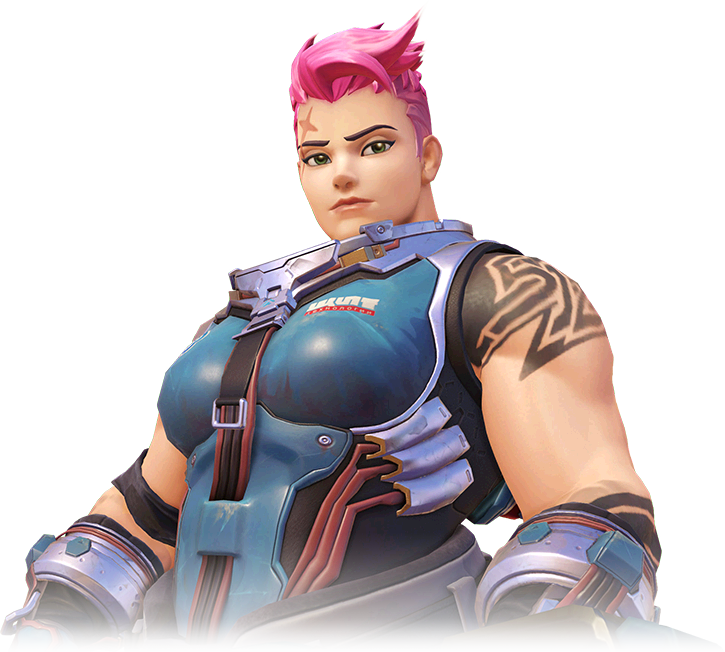 Zarya, the physically imposing Russian soldier.
