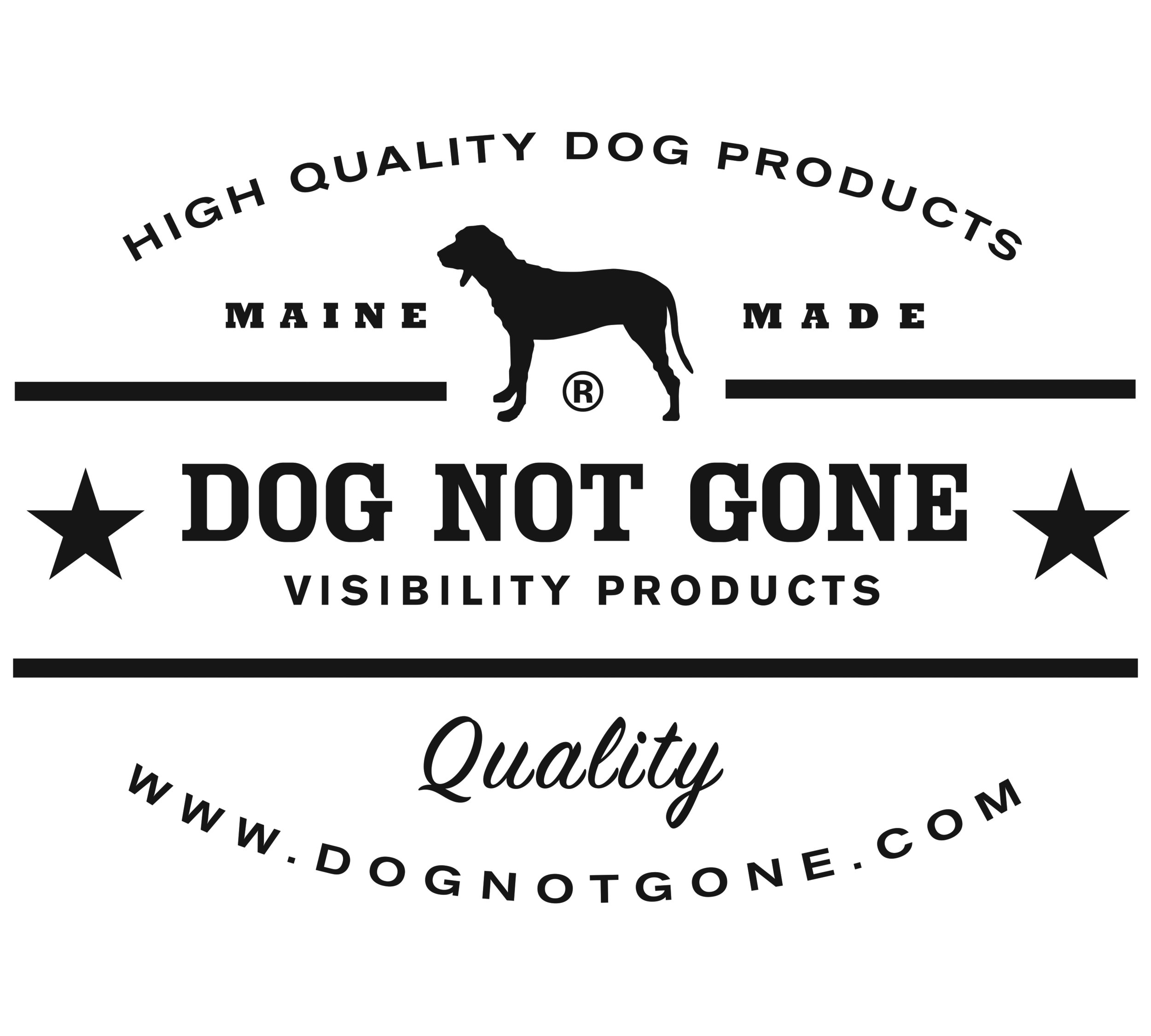 Official Dog Not Gone logo for download.