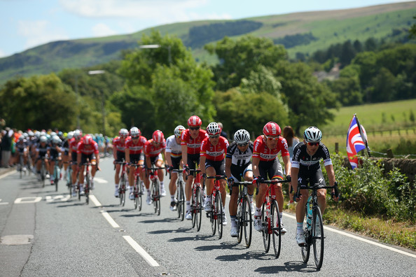 Peleton, 2014 Tour de France. Photo credit: Bryn Lennon/Getty Images Europe