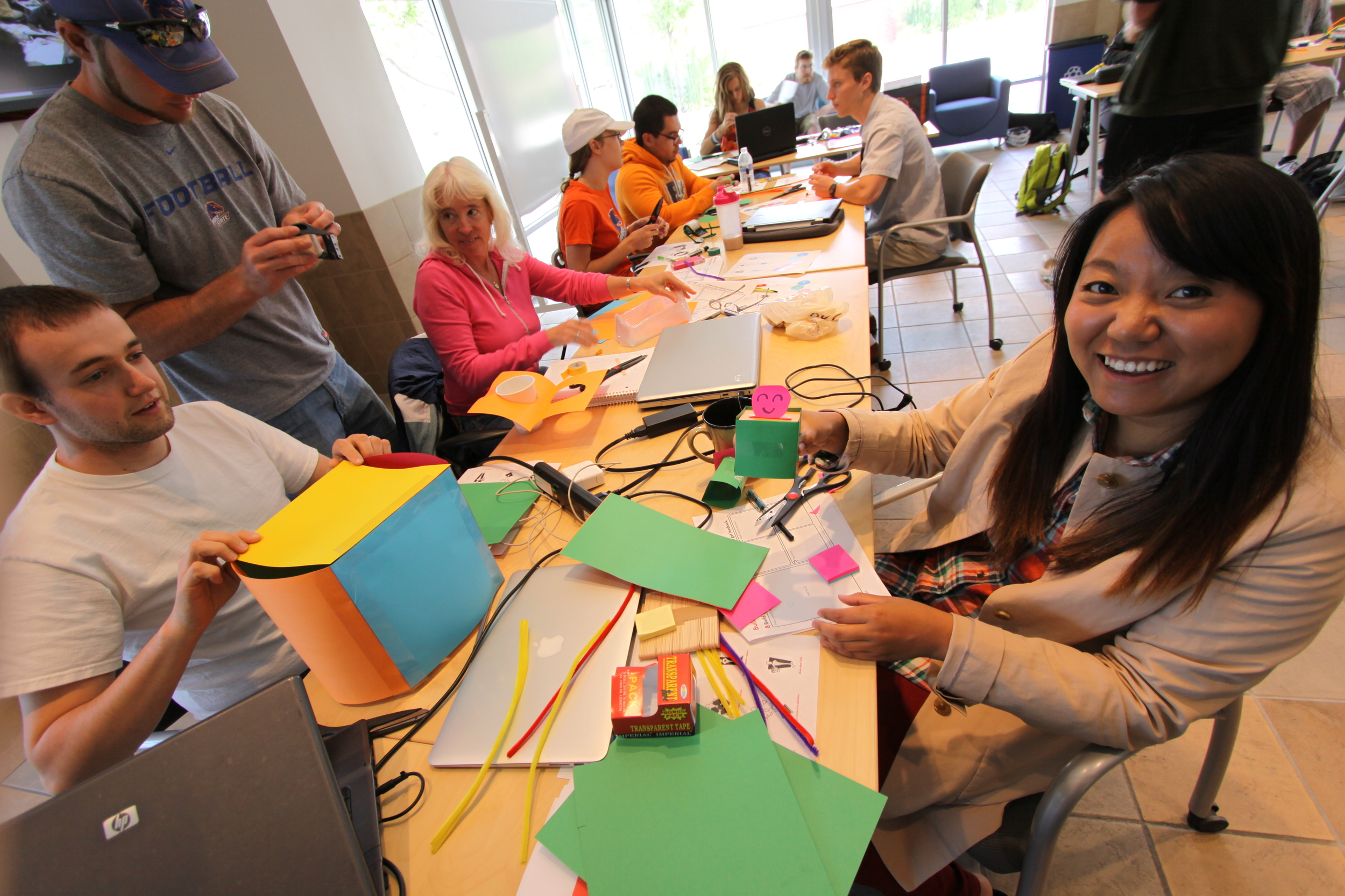 Mocking up rapid prototypes:Boise State University's  LaunchPad  program for student entrepreneurs