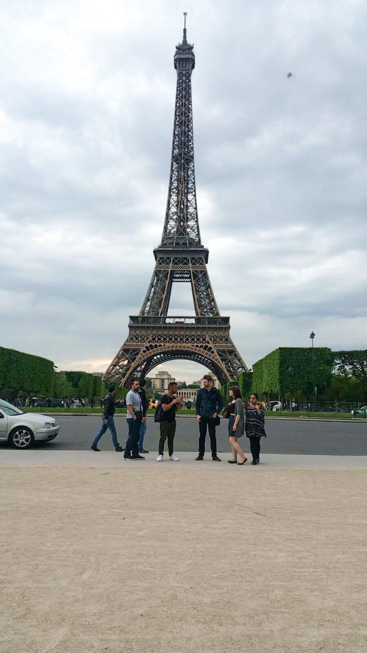 Trip to Paris, Day one.