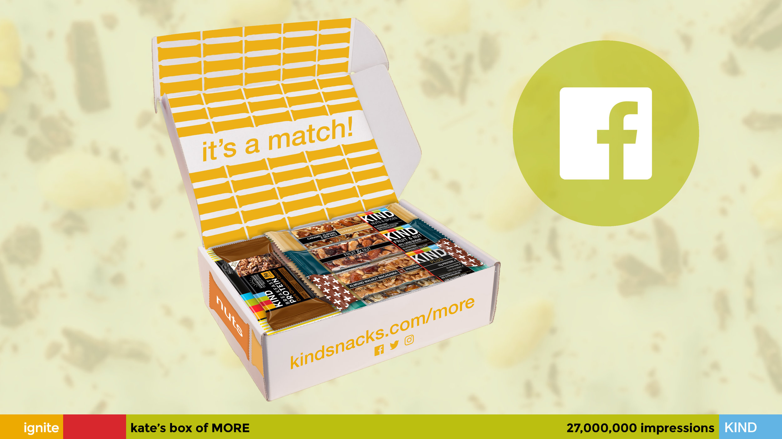 """""""Match for MORE"""" Sample Box"""