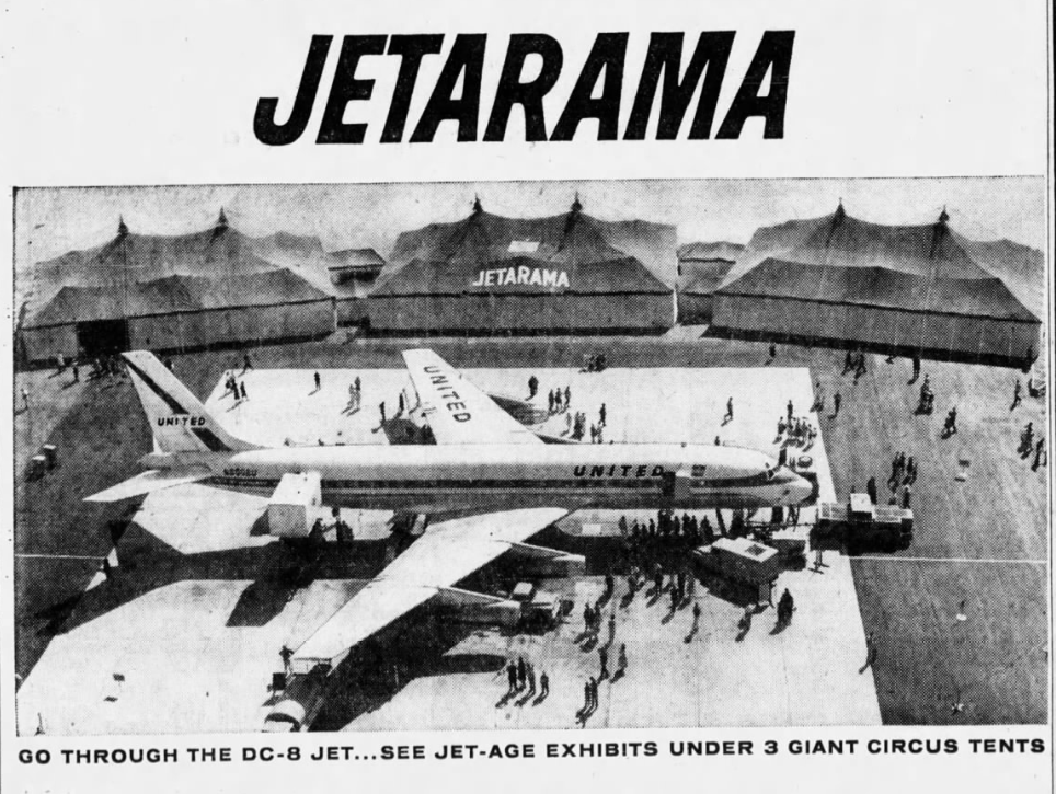 The JETARAMA events were separate from the Sky Shield open houses.